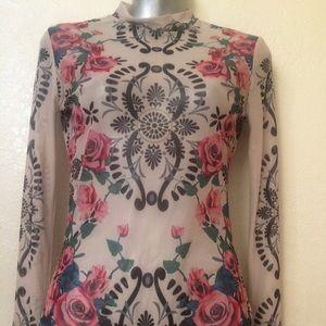For Love and Lemons bodysuit blouse